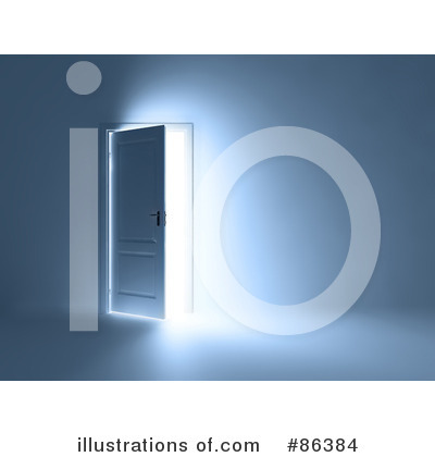 Royalty-Free (RF) Doors Clipart Illustration by Mopic - Stock Sample #86384