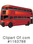 Royalty-Free (RF) Double Decker Clipart Illustration #1163788