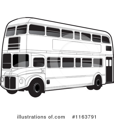 Double Decker Clipart #1163791 - Illustration by Lal Perera