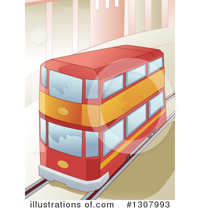 Bus Clipart #1307993 by BNP Design Studio