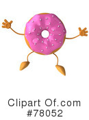 Royalty-Free (RF) Doughnut Clipart Illustration #78052