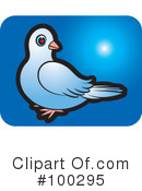 Royalty-Free (RF) Dove Clipart Illustration #100295