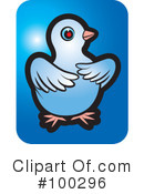 Royalty-Free (RF) Dove Clipart Illustration #100296