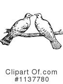 Royalty-Free (RF) Dove Clipart Illustration #1137780