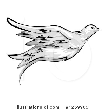 Dove Clipart #1259905 by BNP Design Studio