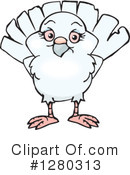 Royalty-Free (RF) Dove Clipart Illustration #1280313