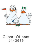 Royalty-Free (RF) Dove Clipart Illustration #443689