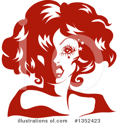 Drag Queen Clipart #1352423 by BNP Design Studio
