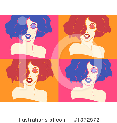 Royalty-Free (RF) Drag Queen Clipart Illustration by BNP Design Studio - Stock Sample #1372572