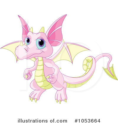 Dragon Clipart #1053664 by Pushkin