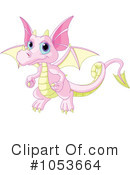 Royalty-Free (RF) Dragon Clipart Illustration #1053664