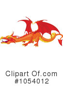 Royalty-Free (RF) Dragon Clipart Illustration #1054012