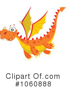 Royalty-Free (RF) Dragon Clipart Illustration #1060888