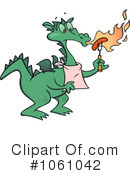 Royalty-Free (RF) Dragon Clipart Illustration #1061042