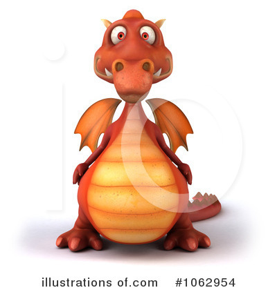 Dragon Clipart #1062954 by Julos