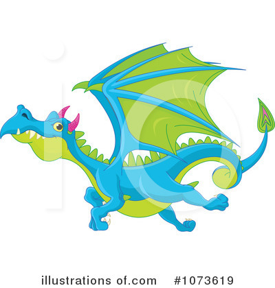 Dragon Clipart #1073619 by Pushkin