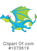 Royalty-Free (RF) Dragon Clipart Illustration #1073619