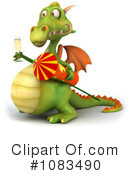 Dragon Clipart #1083490 by Julos