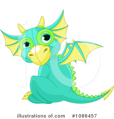 Dragon Clipart #1086457 by Pushkin