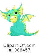 Royalty-Free (RF) Dragon Clipart Illustration #1086457