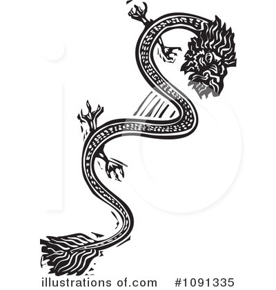 Chinese Dragon Clipart #1091335 by xunantunich