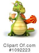 Dragon Clipart #1092223 by Julos