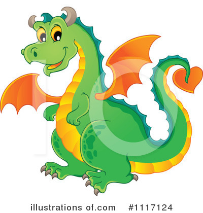 Dragon Clipart #1117124 by visekart