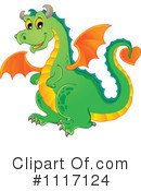 Royalty-Free (RF) Dragon Clipart Illustration #1117124