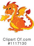 Royalty-Free (RF) Dragon Clipart Illustration #1117130