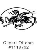 Royalty-Free (RF) Dragon Clipart Illustration #1119792