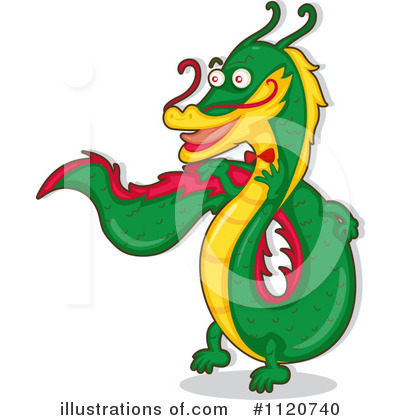 Dragon Clipart #1120740 by Graphics RF