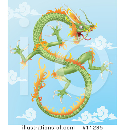 Fantasy Creature Clipart #11285 by AtStockIllustration