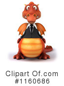 Royalty-Free (RF) Dragon Clipart Illustration #1160686