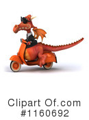 Royalty-Free (RF) Dragon Clipart Illustration #1160692