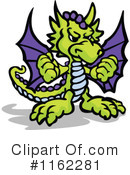 Royalty-Free (RF) Dragon Clipart Illustration #1162281
