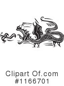 Royalty-Free (RF) Dragon Clipart Illustration #1166701