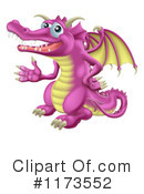 Royalty-Free (RF) Dragon Clipart Illustration #1173552