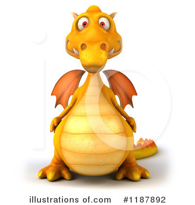 Dragon Clipart #1187892 by Julos