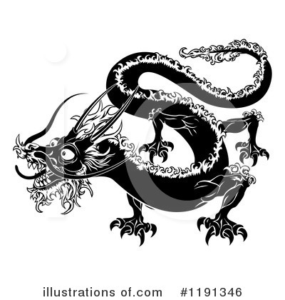 Chinese Zodiac Clipart #1191346 by AtStockIllustration