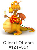 Dragon Clipart #1214351 by Julos