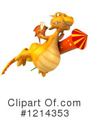 Dragon Clipart #1214353 by Julos