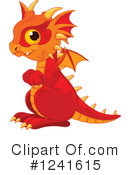 Royalty-Free (RF) Dragon Clipart Illustration #1241615