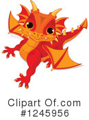 Royalty-Free (RF) Dragon Clipart Illustration #1245956
