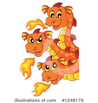 Dragon Clipart #1248179 by visekart