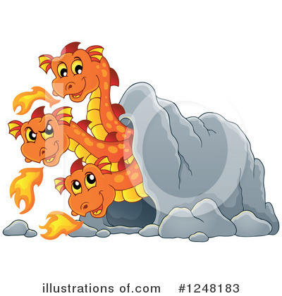 Dragon Clipart #1248183 by visekart