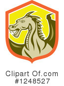 Royalty-Free (RF) Dragon Clipart Illustration #1248527