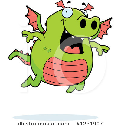 Dragon Clipart #1251907 by Cory Thoman