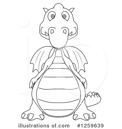 Dragon Clipart #1259639 by Julos