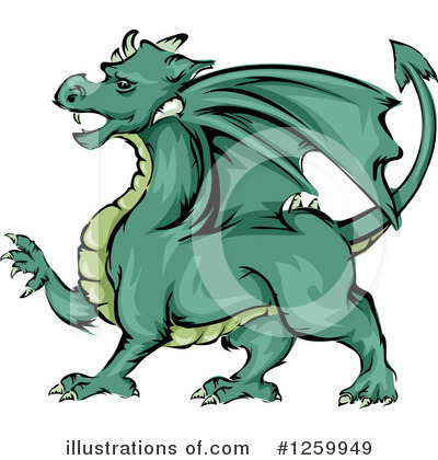 Dragon Clipart #1259949 by BNP Design Studio