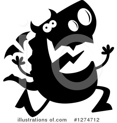 Dragon Clipart #1274712 by Cory Thoman